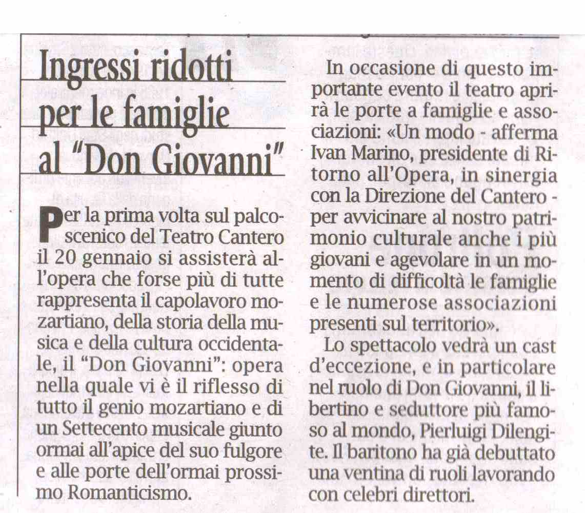 11.01.2012 – CORRIERE MERCANTILE – Don Giovanni