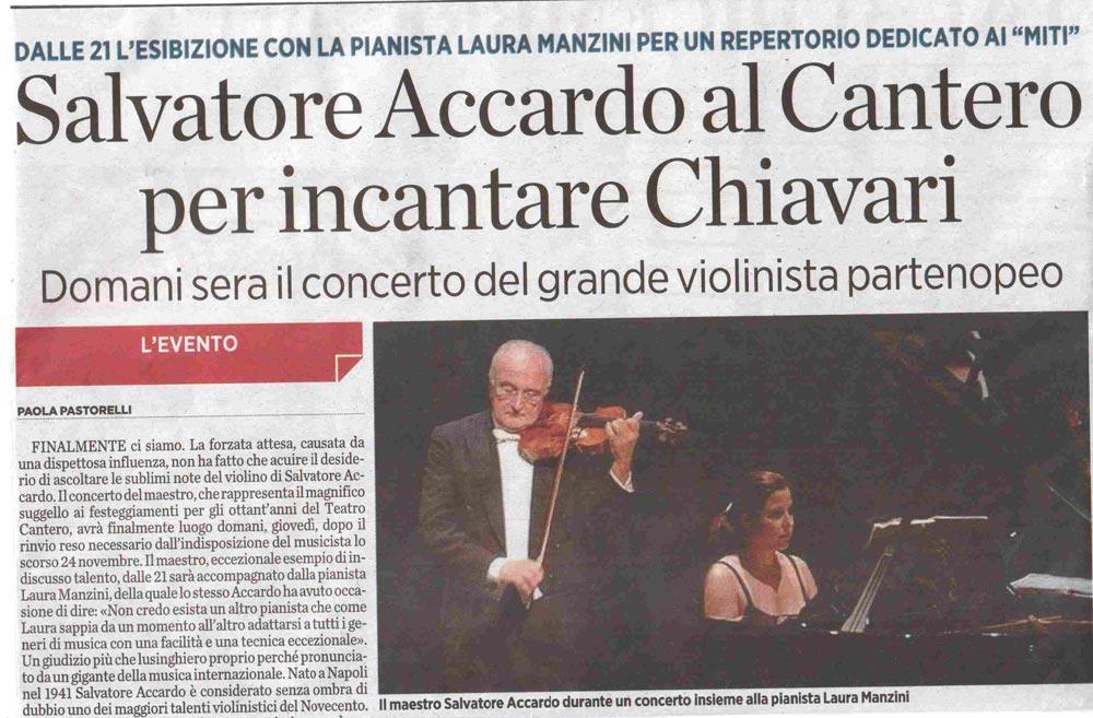 14.12.2011 – IL SECOLO XIX – Salvatore Accardo in Concerto