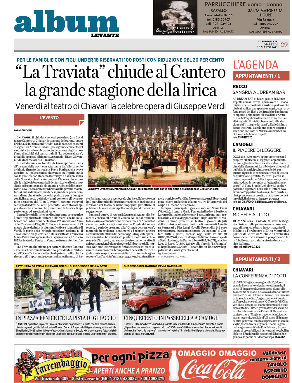 20.03.2012 – IL SECOLO XIX – La Traviata