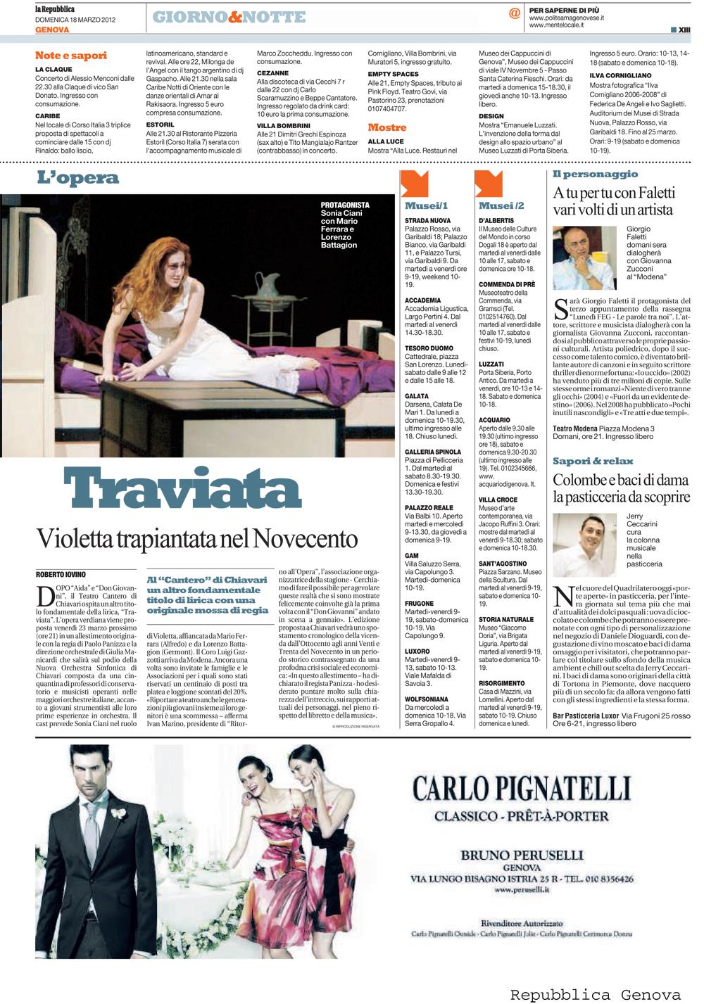 18.03.2012 – LA REPUBBLICA – La Traviata