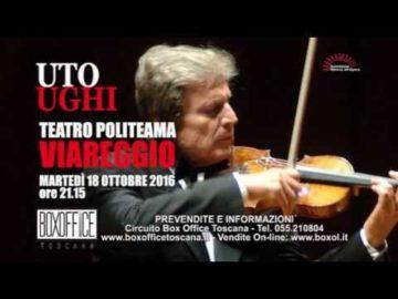 Uto Ughi - 18 Ottobre 2016 Teatro Politeama Viareggio