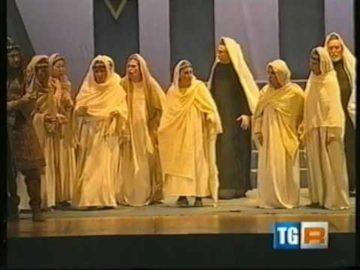 TG3 Liguria  - Nabucco Teatro Cavour Imperia - Ritorno all'Opera