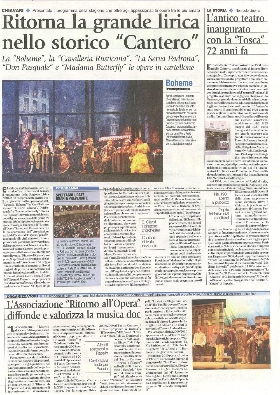 11.07.2010 – CORRIERE MERCANTILE – La Bohème