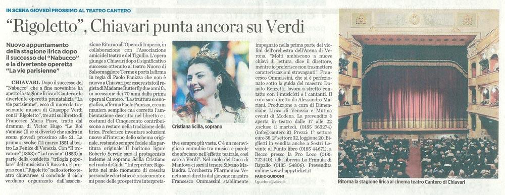14.01.2010 – IL SECOLO XIX – Rigoletto
