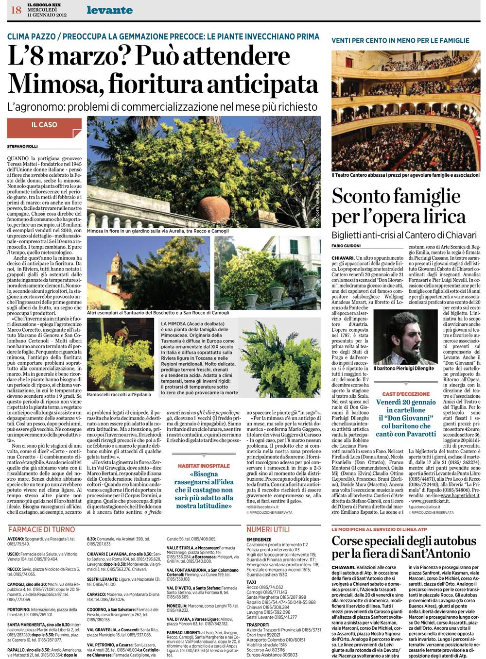 11.01.2012 – IL SECOLO XIX – Don Giovanni