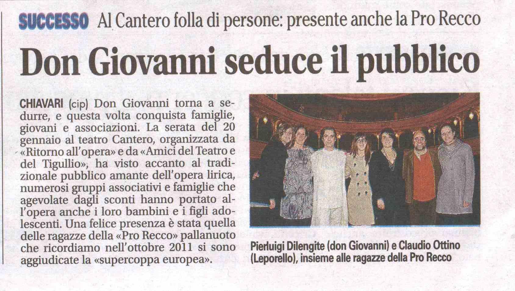 27.01.2012 – IL NUOVO LEVANTE – Don Giovanni