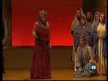 TG3 - Nabucco  2009 Teatro Cantero Chiavari - Ritorno all'Opera